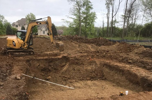 Concrete Pool Process Dig